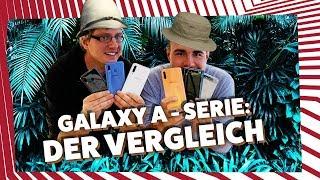 Samsung Galaxy A80, A70, A50, A40 & A20e - Die wichtigsten Unterschiede