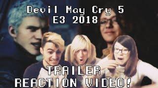 REACCIÓN tráiler Devil May Cry 5 | E3 2018
