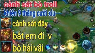 Troll Game _ Cảnh Sát Bò Chat Tổng Khiến 9 Thằng Cười Bò