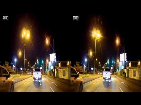 3D - Curitiba Linha Verde a noite - Junho 2014