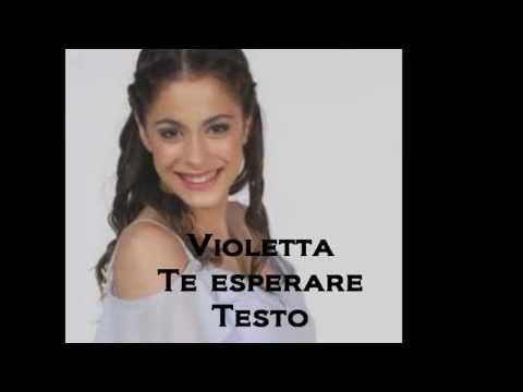 Baixar Violetta - Te Esperare con Testo