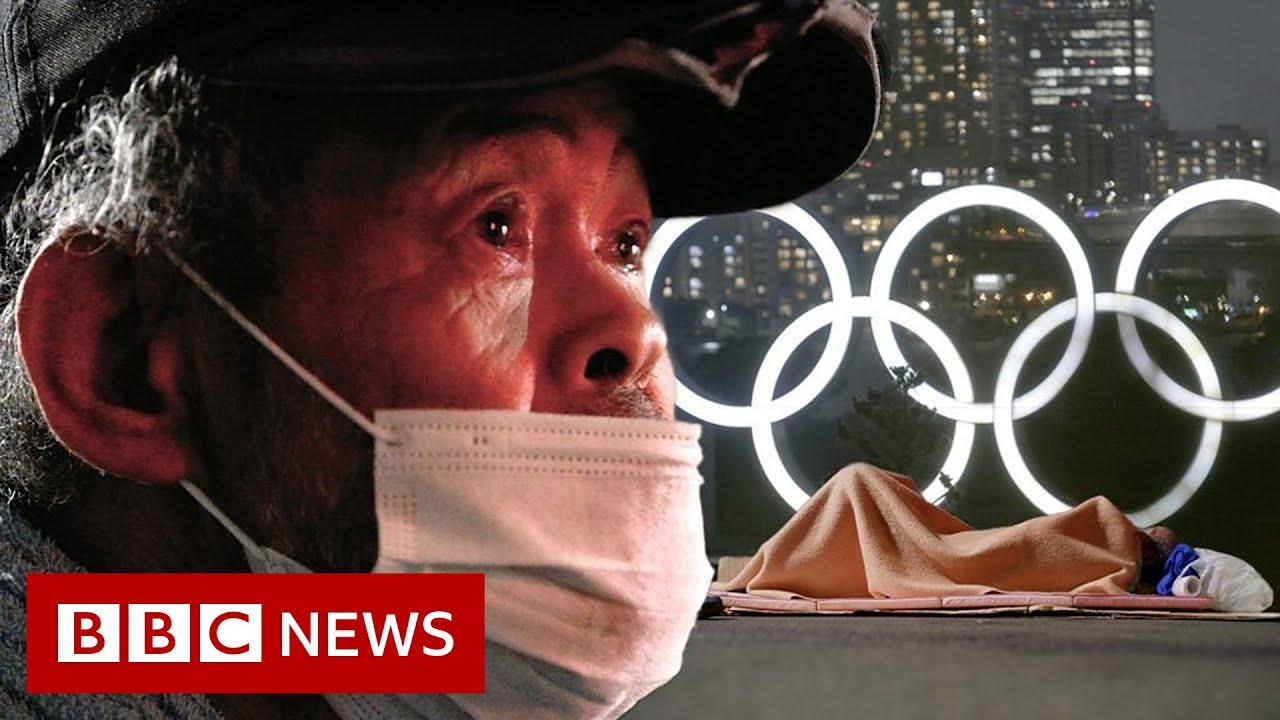 The hidden sight of Tokyo's homeless - BBC News