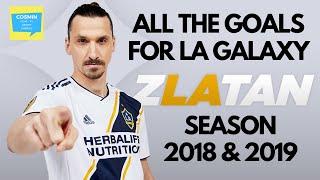 Zlatan Ibrahimovic   All 53 goals scored for LA Galaxy   Major League Soccer