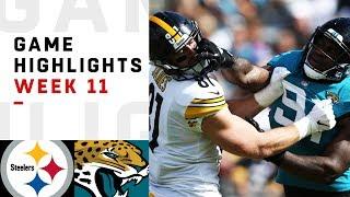 Steelers vs. Jaguars Week 11 Highlights   NFL 2018