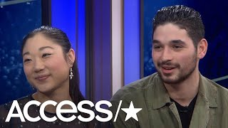 'Dancing With The Stars': Mirai Nagasu Says Tonya Harding Didn't Know Who She Was! | Access