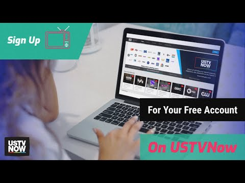 Sign Up for USTVnow's Free Account in Less Than 3 Minutes