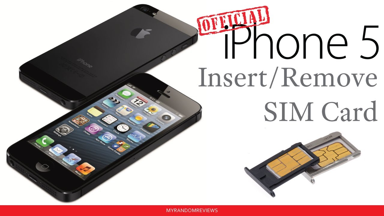 remove sim card iphone 5 iphone 5 how to insert remove a sim card 17957