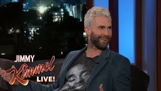 Adam Levine Almost S**t Himself While His Wife Was in Labor