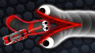 Slither.io - EXCELLENT SLITHERIO TACTICS #3 // SLITHER.IO GAMEPLAY (Slitherio Funny/Best Moments)