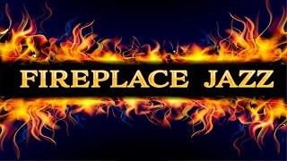 Night Christmas Jazz Music - Smooth Holiday Fireplace JAZZ - Relaxing Cozy Jazz Music