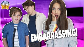 Brother Embarrasses Me In Front Of My Crush! *GONE TOO FAR*