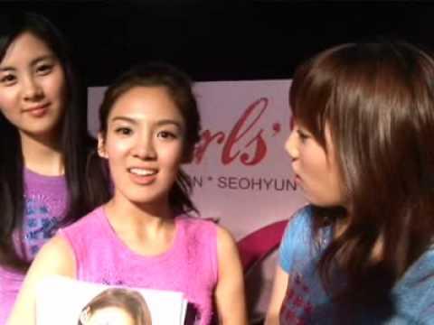 Girls` Generation fan meeting 'Geeday' Highlight 2009.02.28.