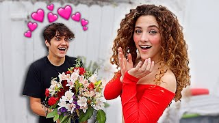 I ASKED MY CRUSH TO BE MY VALENTINE!!