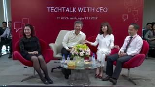 Techcombank TechTalk Doi thoai CEO Nguyen Le Quoc Anh 13072017