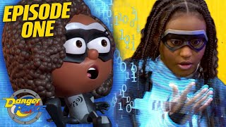 They Turned Into Cartoons! 'Danger Goes Digital' Ep.1 | Danger Force