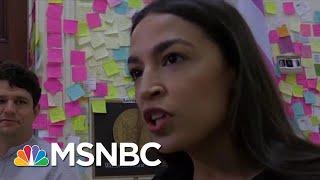 Ocasio-Cortez: Donald Trump Relies On Racism, Division To Consolidate Power   Craig Melvin   MSNBC