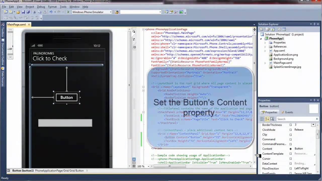 Best program for writing apps for windows
