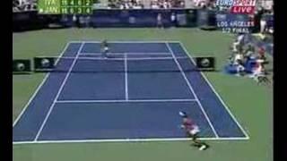 Ana Ivanovic vs Jelena Jankovic wta Los Angeles semifinal
