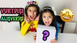YURTDIŞI ALIŞVERİŞİM | overseas shopping - funny kid video #alışveriş #unboxing #funnykids