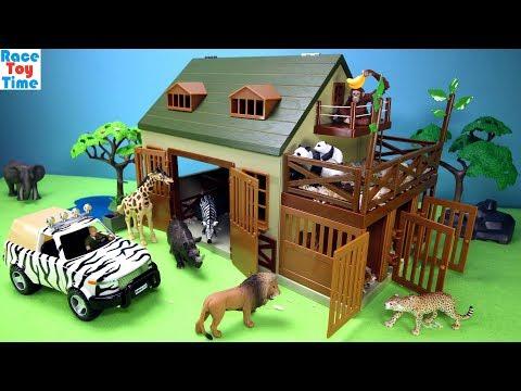 Safari Wildlife Animal Care Terra Playset - Fun Animals Toys For Kids