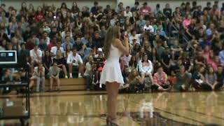 Rise Up cover  Madison DeFrank New Albany HS Unity Assembly