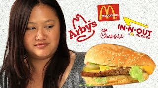 Food Stylist Reviews Fast Food Burgers