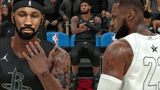 PG13 HATING ON BRIDGES IN ALL-STAR GAME vs LEBRON JAMES! NBA 2K18 My Career Gameplay Ep. 23