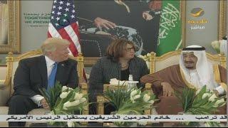 خادم الحرمين الشريفين الملك سلمان بن عبدالعزيز يستقبل فخامة ...