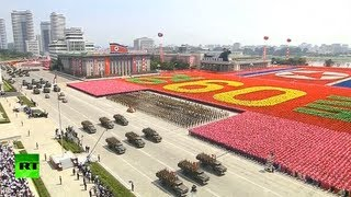 Parade pageantry in Pyongyang: N. Korea marks 60 yrs since Korean War armistice