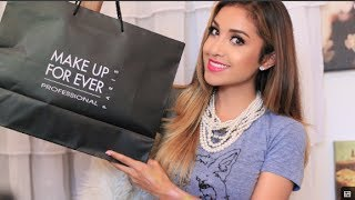 Dulce Candy – MAKE UP FOR EVER Haul