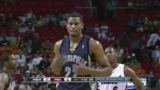 Rudy Gay 41 points vs miami heat (career high)