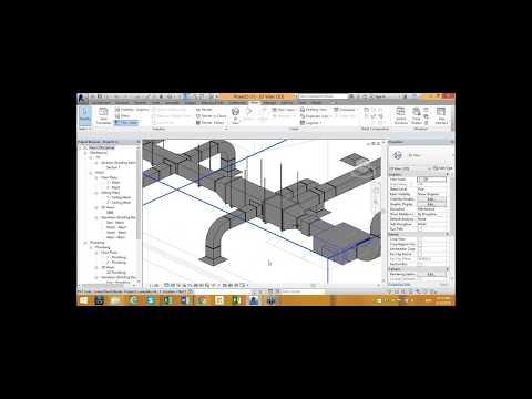 Webcast Autodesk Revit MEP Creación de sistemas de ductos