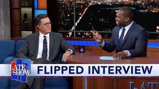 Flipped: 50 Cent Interviews Stephen Colbert