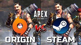 Origin vs Steam | Apex Legends - Performance Comparison