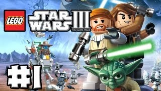 LEGO Star Wars 3 - The Clone Wars - Episode 01 - Prologue