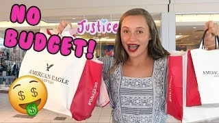 NO BUDGET AT THE MALL CHALLENGE!!