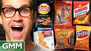 BBQ Snack Taste Test