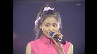 안혜지 - '벌써 이밤이 다 지나고' [가요톱10, 1989]