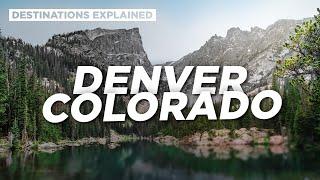 Denver Colorado: Cool Things To Do // Destinations Explained