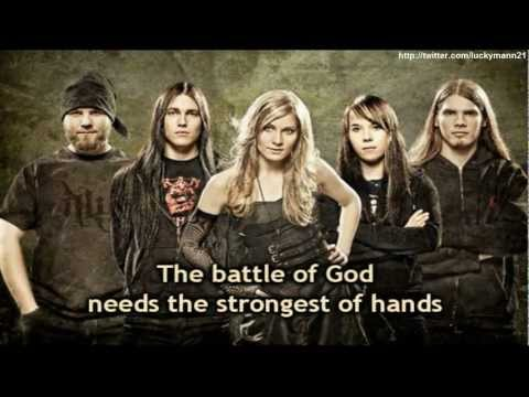 HB - The Battle Of God (Lyrics On Screen Video HD) New Symphonic Metal 2011