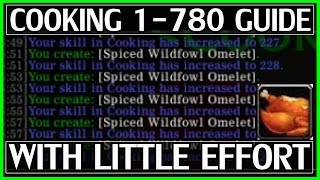 Legion Cooking Leveling Guide - 1-780 With Little Effort - WoW Legion