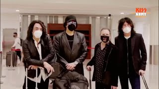 KISS Arrives To Dubai For KISS 2020 Goodbye