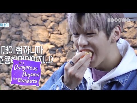 This is How Daniel Sounds During His Eating Show [It's Dangerous Beyond The Blankets Ep 3]