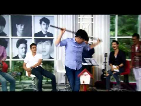 140808 Ultimate Group Super Junior - Shindong Balance with Stuff