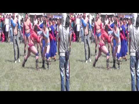 Pride of Mongolia: The Naadam Festival (Side by side 3D Trailer)
