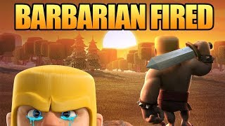 Clash of Clans Mini Story   Barbarian Builder Fired! - Apology Letter   Giant Surprise Update CoC