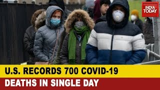 US records 700 Covid-19 deaths in single day for first tim..