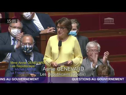 Mme Annie Genevard - Report des élections départementales et régionales