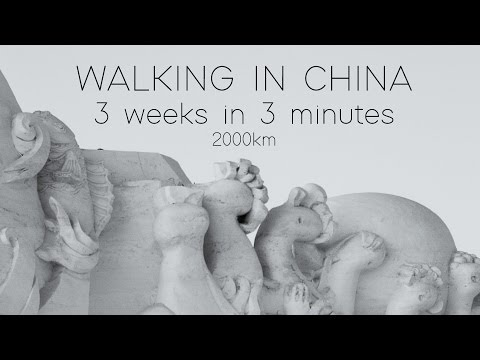 Walking in China [HARBIN, BEIJING, DATONG, PINGYAO, XI'AN]