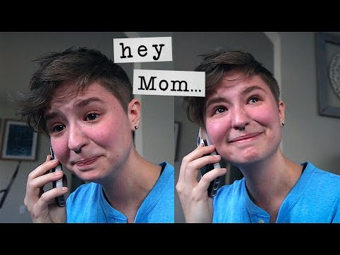 Calling my Mom to tell her I'm Trans 💙